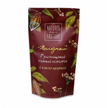 Гречишный чай с какао крупкой Nature's own factory, 100 гр