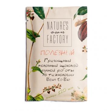 Молочный шоколад с гречишным чаем Nature's own factory, 20 гр