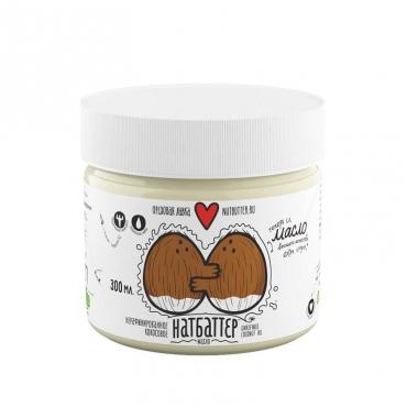 Масло кокосовое нерафинированное extra virgin Nutbutter, 300 мл