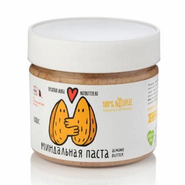 Миндальная паста из жареного миндаля Nutbutter, 320 гр