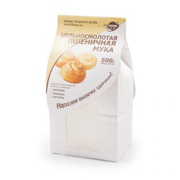 Мука пшеничная цельносмолотая Образ Жизни Алтая, 500 гр