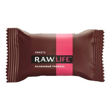 """Конфета """"Малиновый трюфель"""" Raw Life, 18 гр"""