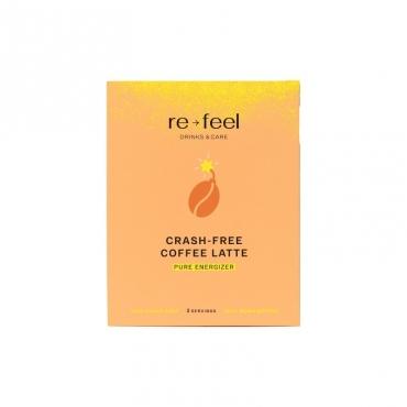 "Напиток ""Crash-free coffee Latte"" (саше) Re-feel, 3 шт"