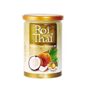 Масло кокосовое рафинированное Roi Thai, 600 мл