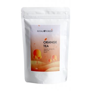 Чай апельсиновый с корицей Royal Forest, 75 гр