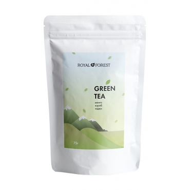 Чай зеленый Royal Forest, 75 гр