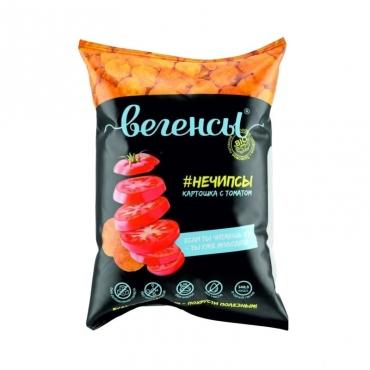 """Картофель сушеный """"Нечипсы. Картошка с томатом"""" Вегенсы, 45 гр"""