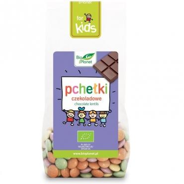"Драже шоколадные BIO minki ""Пчелки"" Vivani, 100 гр"