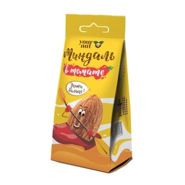 Миндаль обжаренный в томате Your Nut, 80 гр