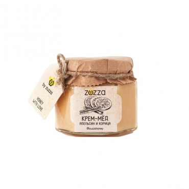 """Крем-мёд """"Апельсин и корица"""" Zuzza, 150 гр"""