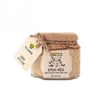 """Крем-мёд """"Фисташка и морская соль"""" Zuzza, 150 гр"""