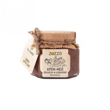 """Крем-мёд """"Фундук и шоколад"""" Zuzza, 150 гр"""