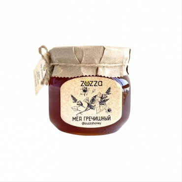 Мёд гречишный Zuzza, 470 гр