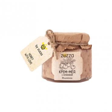 Крем-мёд с клюквой Zuzza, 150 гр