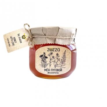 Мёд луговой Zuzza, 470 гр
