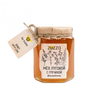 Мёд луговой с гречихой Zuzza, 250 гр