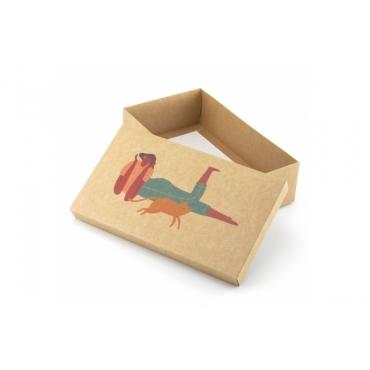 """Коробка для подарка """"Алиса и кот"""" 25х15х7"""
