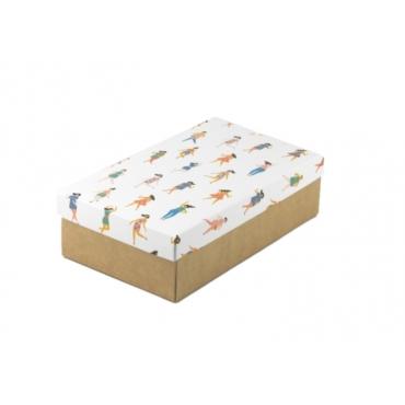 """Коробка для подарка """"Девчата"""" 25х15х7"""