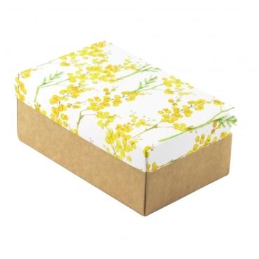 """Коробка для подарка """"Мимоза"""" 18х11х7"""