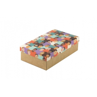 "Коробка для подарка ""Мужчины"" 25х15х7"