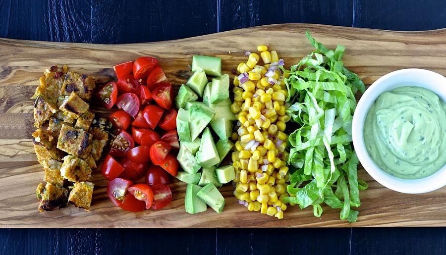 полезные салаты