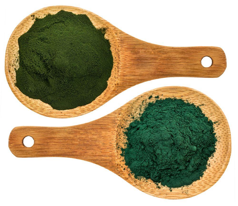 зеленые суперфуды