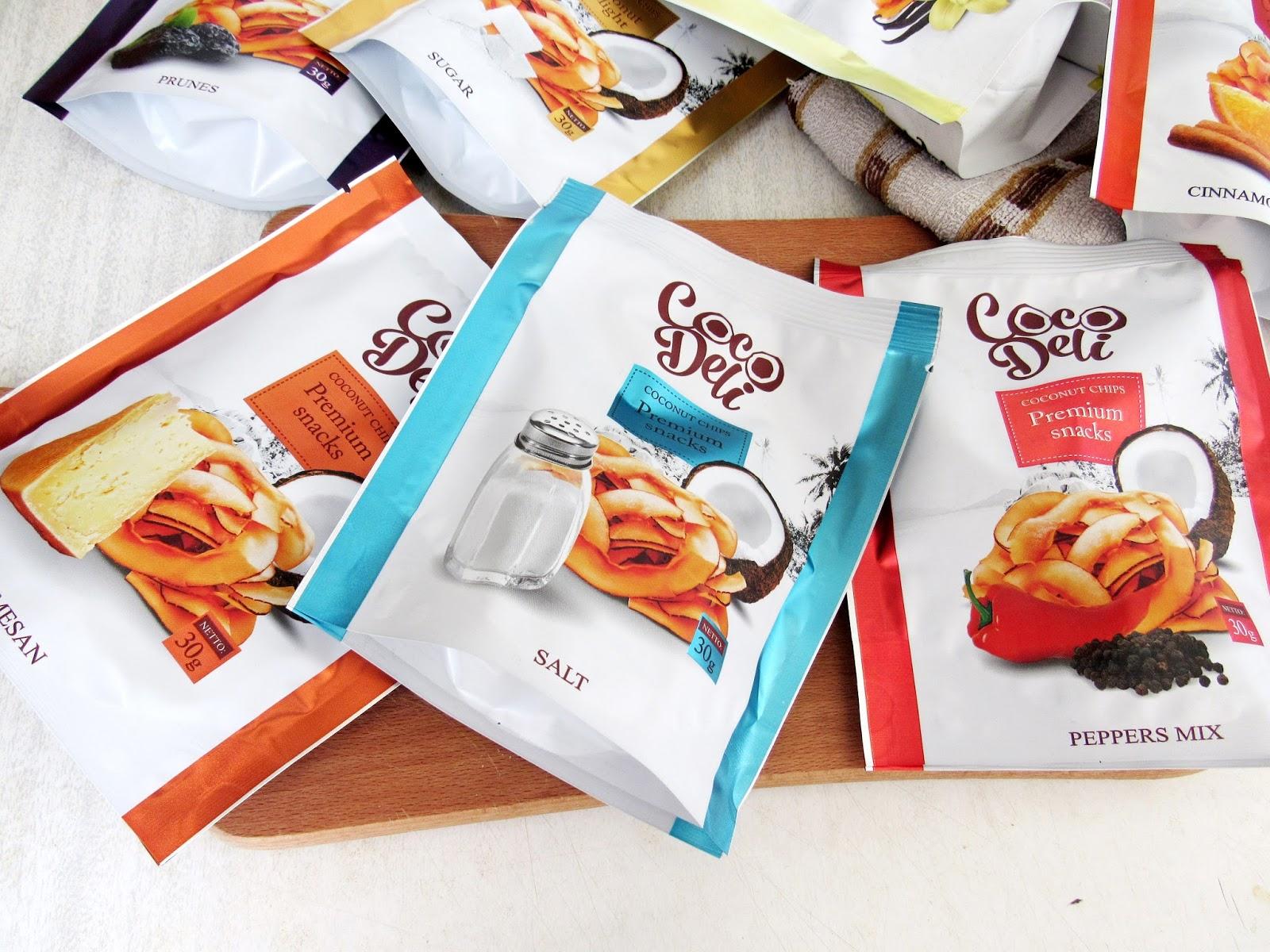 Кокосовые чипсы CocoDeli