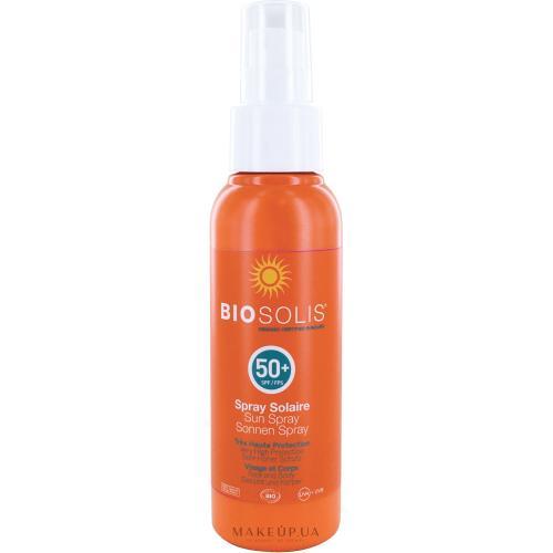 Солнцезащитный спрей SPF 50+ Biosolis
