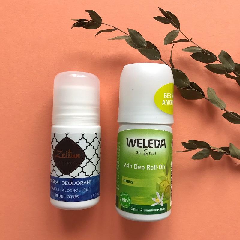 Преимущества шариковых дезодорантов