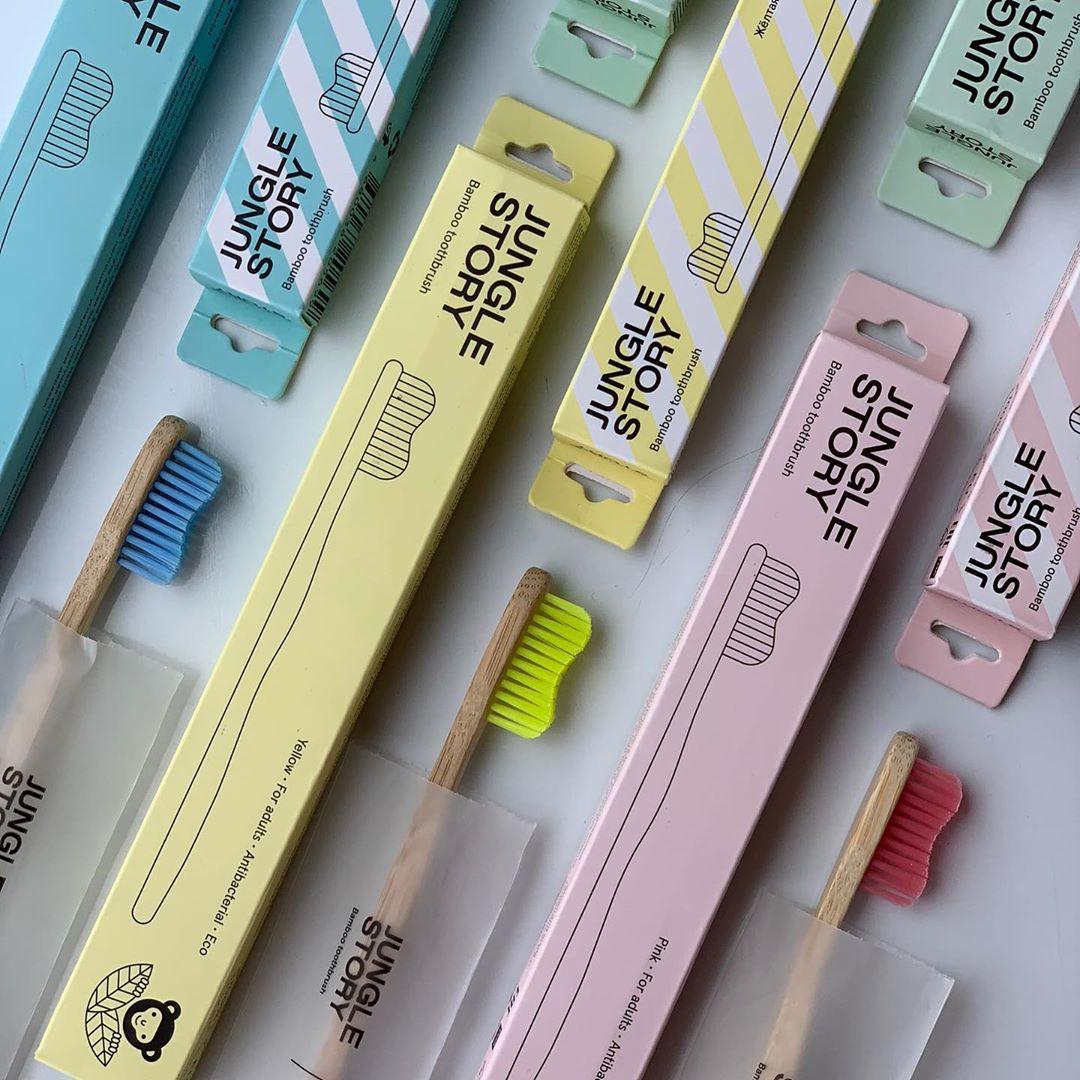 зубные щётки Jungle story