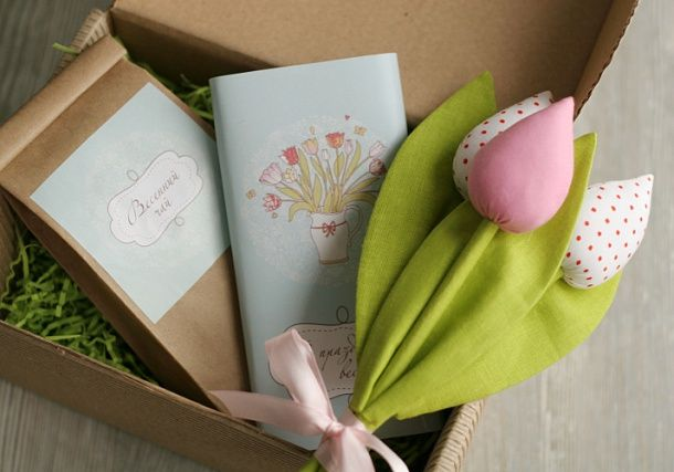 Идеи для подарков на 8 марта