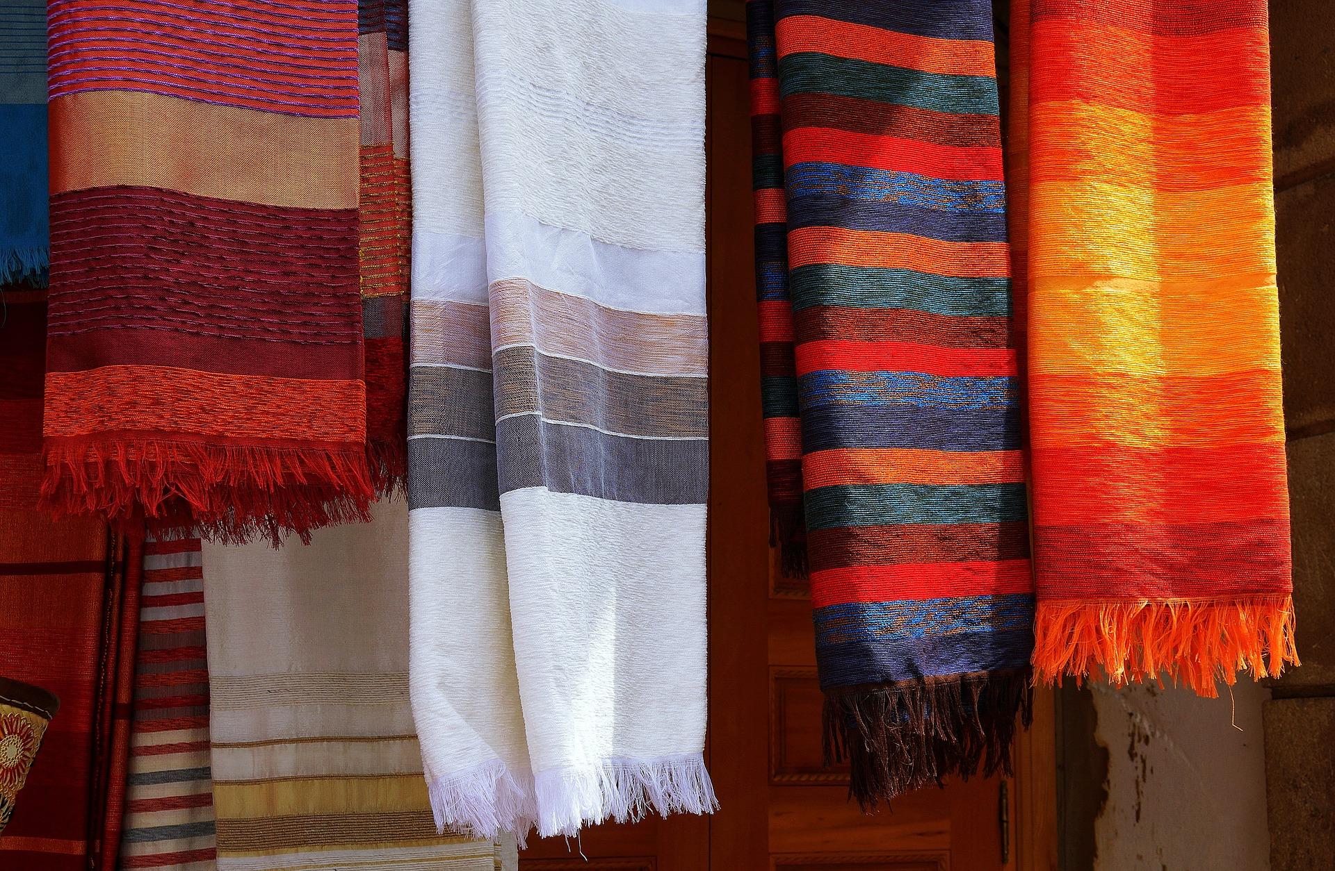 цветные шарфы