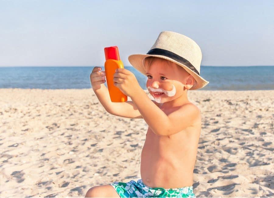 Детские средства для защиты от солнца