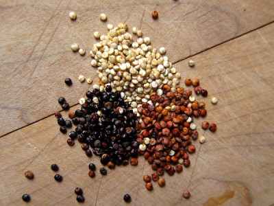 quinoa-white-red-black