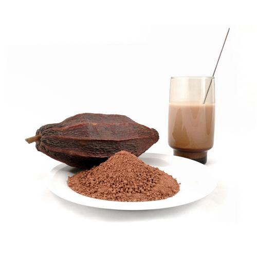 Продукты из какао: порошок и коктейль